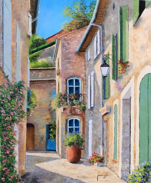 Doorway Digital Art - Sunny Lane by MGL Meiklejohn Graphics Licensing