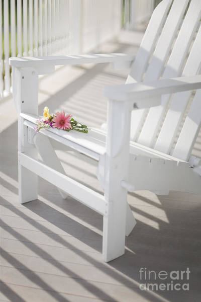 Wall Art - Photograph - Sunny Porch by Diane Diederich