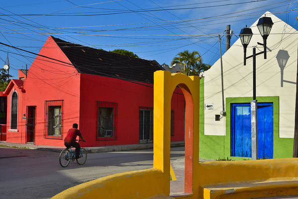 Campeche Photograph - Sunny Side by Skip Hunt