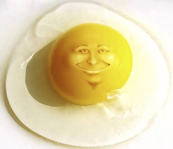 Yolk Wall Art - Photograph - Sunny Side Up by Diane Diederich