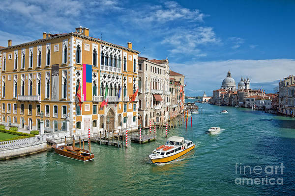 Wall Art - Photograph - Sunny Venice by Delphimages Photo Creations