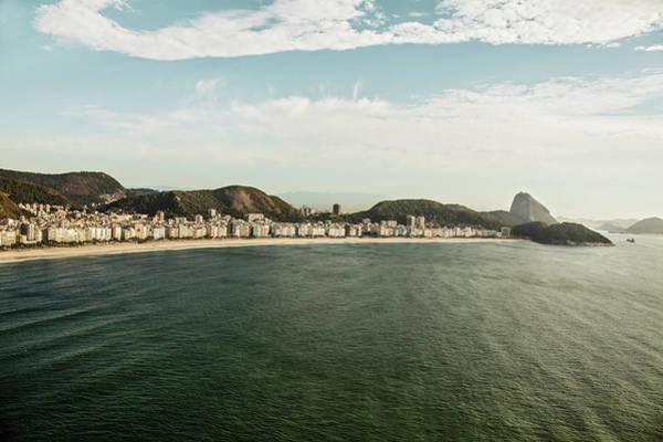 Rio De Janeiro Photograph - Sunny View Of Copacabana And Sugarloaf by Christian Adams