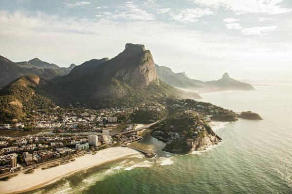 Rio De Janeiro Photograph - Sunny View Onto Barra Tijuca, Rio De by Christian Adams