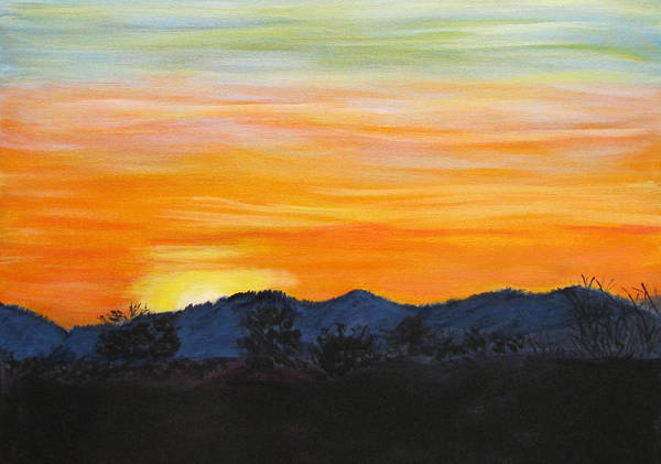 Painting - Sunrise - A New Day by Linda Feinberg
