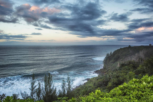 Photograph - Sunrise Along The Cliffs  - Princeville - Kauai - Hawaii by Belinda Greb