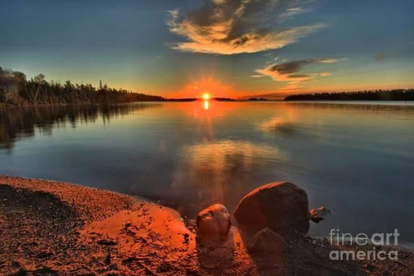 Photograph - Sunrise Anchor by Adam Jewell