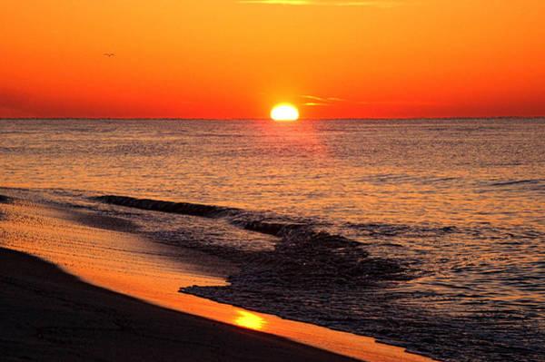 Wall Art - Digital Art - Sunrise At Alabama Point East by Michael Thomas