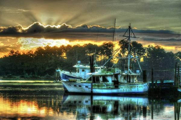 Digital Art - Sunrise At Billy's by Michael Thomas
