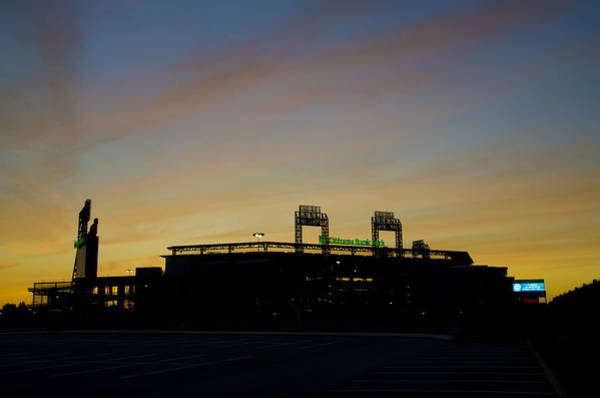 Citizens Bank Park Wall Art - Photograph - Sunrise At Citizens Bank Park by Bill Cannon
