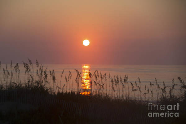 Outer Banks Wall Art - Photograph - Sunrise At Corolla Outer Banks North Carolina by Diane Diederich