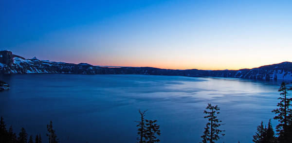 Crater Lake Np Photograph - Sunrise At Crater Lake by Kunal Mehra