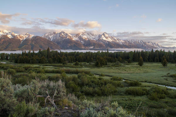 Wall Art - Photograph - Sunrise At Grand Teton by Brian Harig