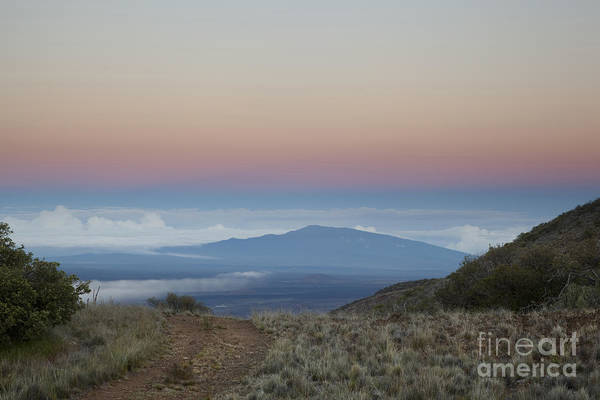 Photograph - Sunrise At Hualalai by Charmian Vistaunet