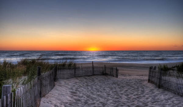 Photograph - Sunrise At Indian River Inlet by David Dufresne