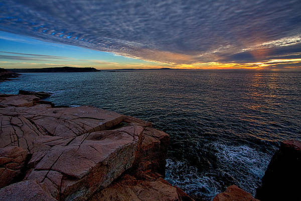 Photograph - Sunrise At Otter Cliffs #2 by Stuart Litoff