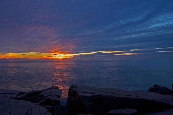 Photograph - Sunrise At Otter Cliffs by Stuart Litoff