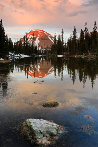 Uinta Photograph - Sunrise At Picturesque Lake. by Johnny Adolphson