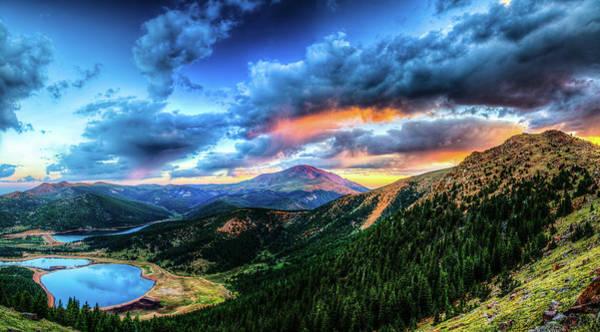 Colorado Photograph - Sunrise At Pikes Peak by Photo By Matt Payne Of Durango, Colorado