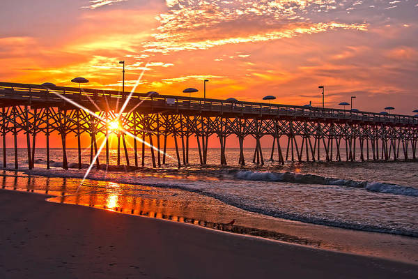 Terry Shoemaker - Sunrise at the Garden City Pier