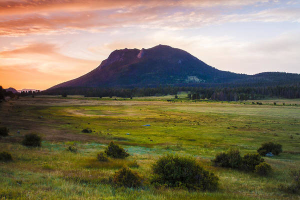 Wall Art - Photograph - Sunrise At The Horseshoe Park Of The Colorado Rockies by Ellie Teramoto