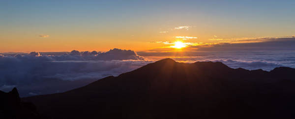 Photograph - Sunrise At The Summit Of Haleakala by Pierre Leclerc Photography