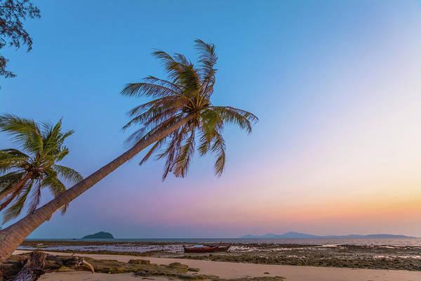 Thailand Photograph - Sunrise Beach Andaman Sea Thailand by Deimagine