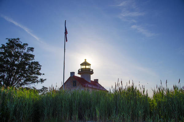 Wall Art - Photograph - Sunrise Behind East Point Lighthouse by Bill Cannon