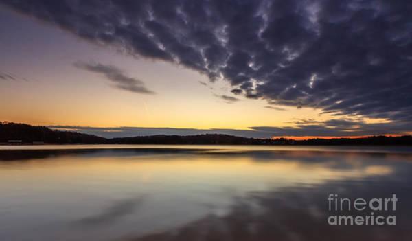 Photograph - Sunrise On The Lake by Bernd Laeschke