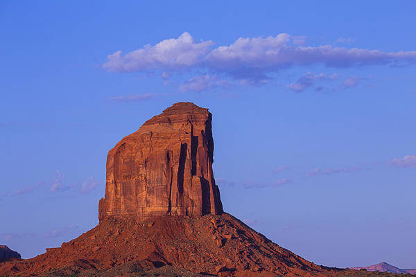Navajo Indian Reservation Photograph - Sunrise Butte by Garry Gay