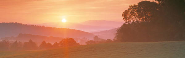 Vt Wall Art - Photograph - Sunrise Caledonia Vt Usa by Panoramic Images