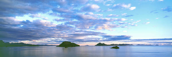 Sea Of Cortez Photograph - Sunrise Clouds Reflect In The Still by Panoramic Images