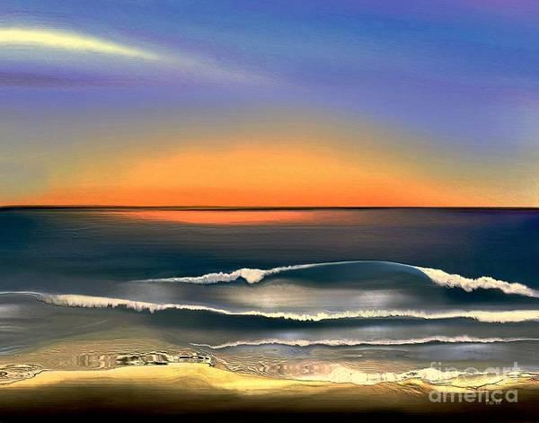 Digital Art - Sunrise by Dale   Ford
