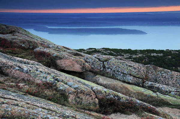 Acadia National Park Photograph - Sunrise From Cadillac Mountain by Michel Hersen