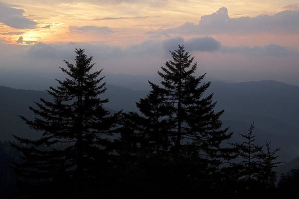 Photograph - Sunrise From Clingman's Dome by Andy Crawford