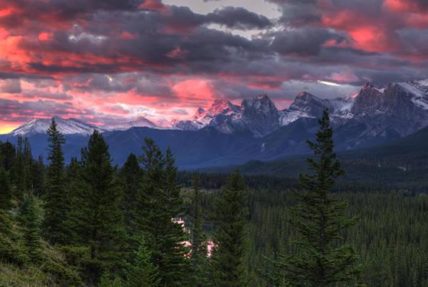 Photograph - Sunrise In Banff by Darlene Bushue