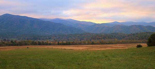 Photograph - Sunrise In Cades Cove by Dan Sproul