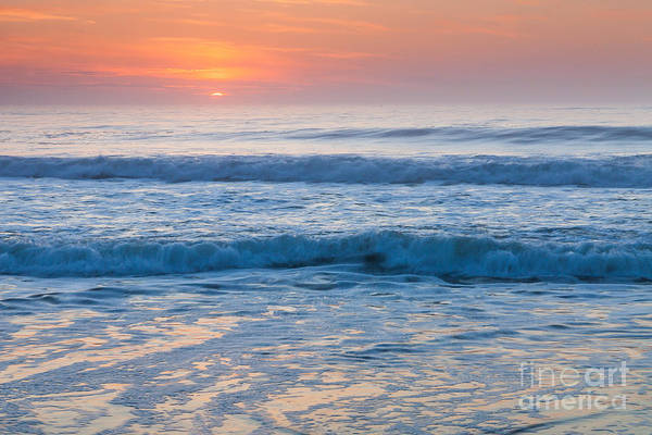 Photograph - Sunrise In Peach And Blue by Susan Cole Kelly