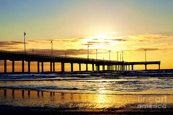 Port Orange Photograph - Sunrise In Port Aransas by Katya Horner