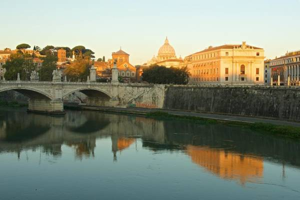 Photograph - Sunrise In Rome by Stephen Taylor