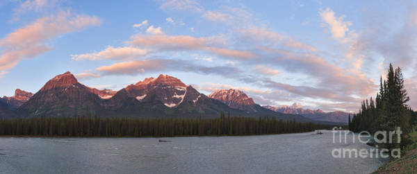 Photograph - Sunrise In The Athabasca Valley by Charles Kozierok