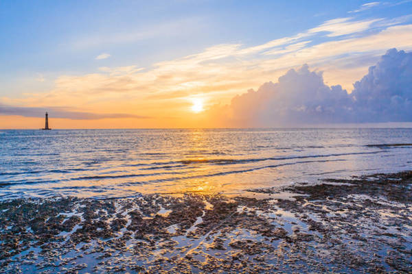 Photograph - Sunrise In The Atlantic by Keith Allen
