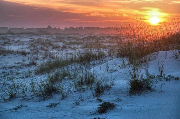 Digital Art - Sunrise In The Dunes by Michael Thomas