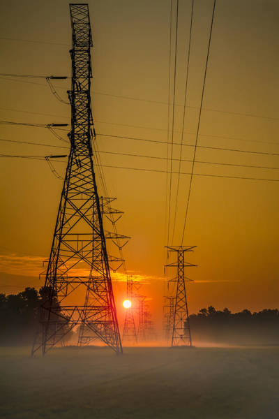 Photograph - High Voltage Sunrise by Ron Pate