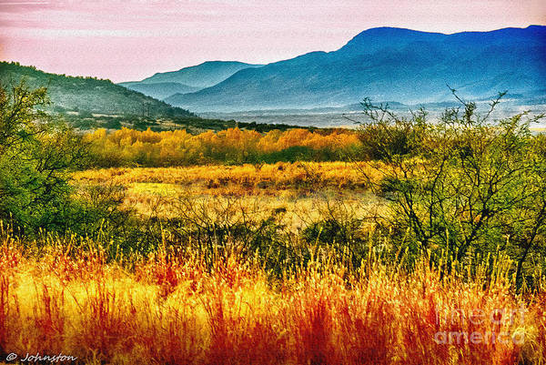 Photograph - Sunrise In Verde Valley Arizona by Bob and Nadine Johnston
