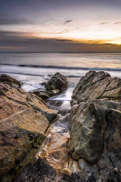 Konica Wall Art - Photograph - Sunrise In White Rock Dalkey Dublin Ireland by Giuseppe Milo