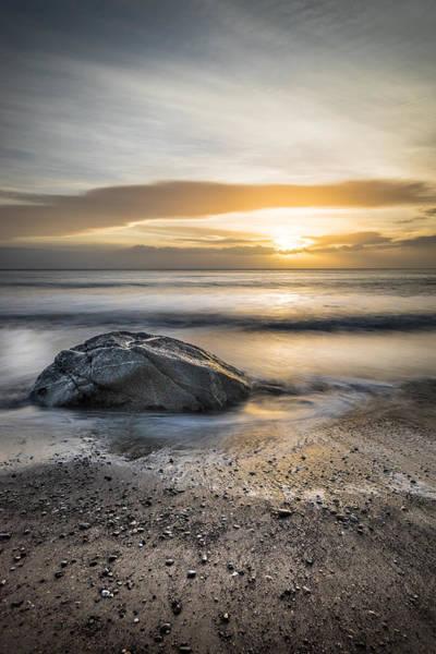 Konica Wall Art - Photograph - Sunrise In White Rocks Dublin Ireland by Giuseppe Milo