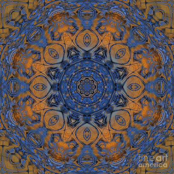 Digital Art - Sunrise Kaleidoscope by Deborah Benoit