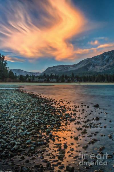 Shutter Speed Photograph - Sunrise Kiva Beach by Mitch Shindelbower