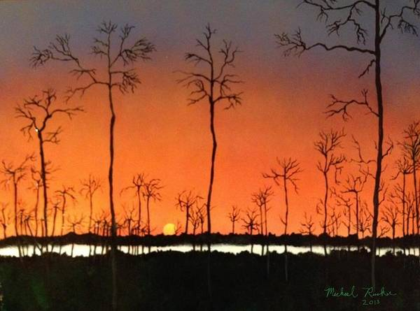 Painting - Sunrise by Michael Rucker