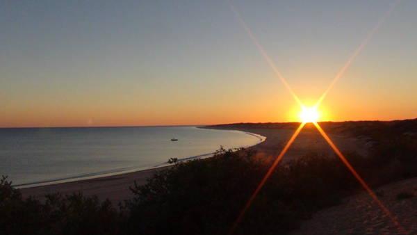 Sunrise Near Broome  Australia Art Print